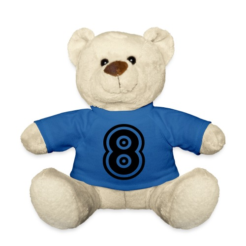 cool number 8 - Teddy
