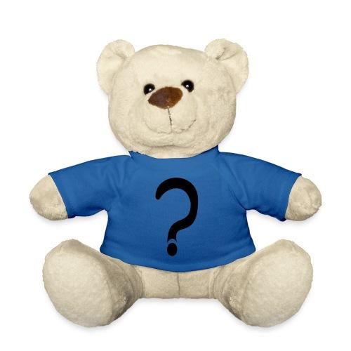 fragezeichen, wieso weshalb warum - Teddy