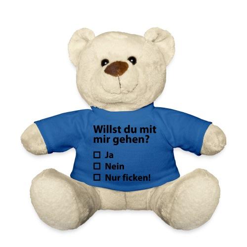 Willst du mit mir gehn? - Teddy
