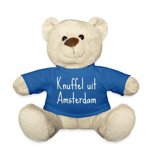 knuffel uit amsterdam wit - Teddy