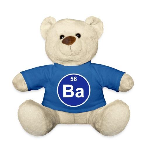 Barium (Ba) (element 56) - Teddy Bear