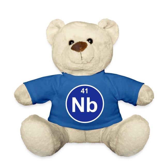 Niobium (Nb) (element 41) | Teddy Bear