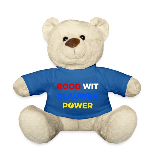 Rood Wit Blauwer Power - Teddy