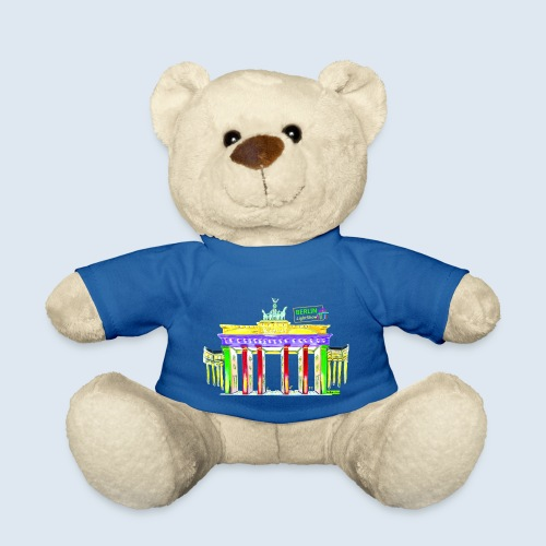 Brandenburger Tor Berlin PopArt ickeshop BachBilde - Teddy
