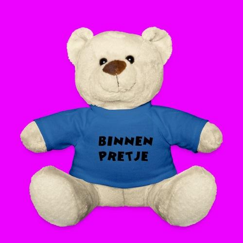 binnenpretje knuffel - Teddy