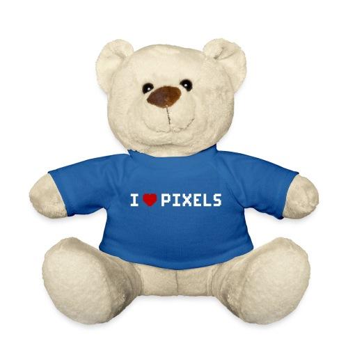 I Love Pixels - Teddybjørn
