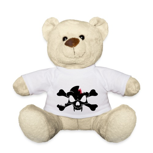 SKULL N CROSS BONES.svg - Teddy Bear