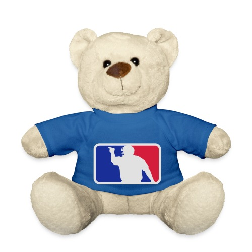 Baseball Umpire Logo - Teddy Bear
