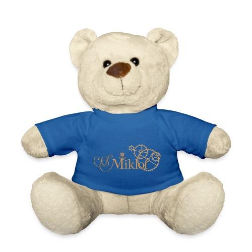 miklof logo gold outlined 3000px - Teddy Bear