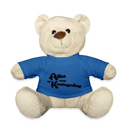 Alles mag op Koningsdag - Teddy