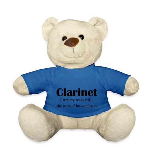 Clarinet, I wet my reeds with the tears - Teddy Bear