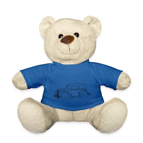 Racing Car schwarz - Teddy