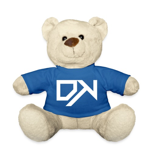 DewKee Logo Cap White - Teddy Bear