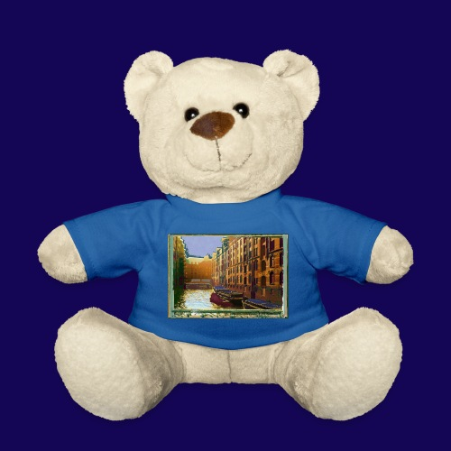 Hamburg Speicherstadt als Künstler-Impression - Teddy