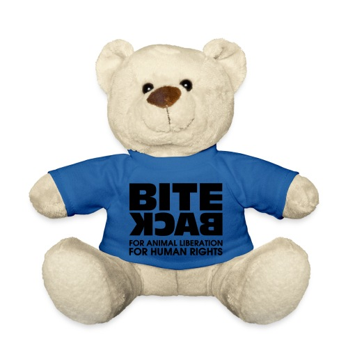 Bite Back logo - Teddy
