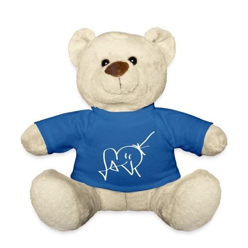 Jackjohannes Hemp signatuur 'Jack' wit - Teddy