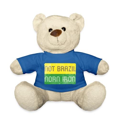 not brazil - distressed - Teddy Bear