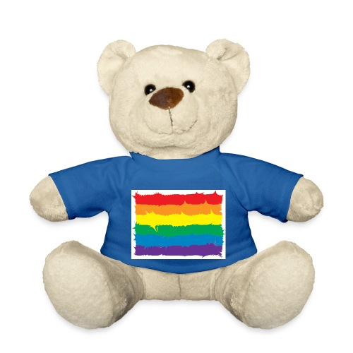 Spikey Rainbow - Teddy Bear