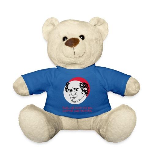 Goethe war Dichter - Teddy