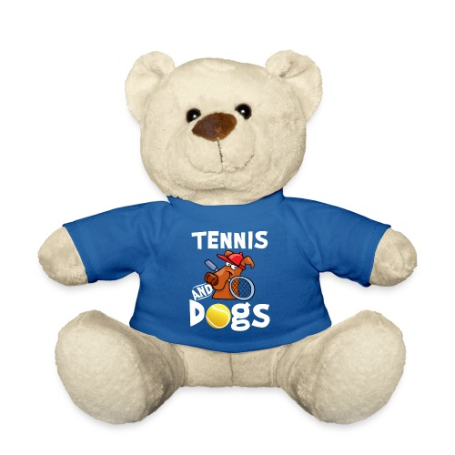 Tennis And Dogs Funny Sports Pets Animals Love - Teddy