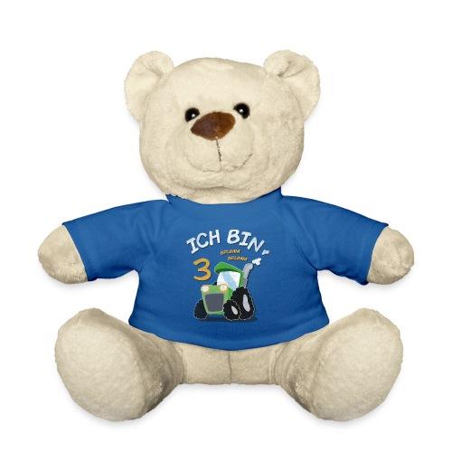 Kinder 3. Geburtstags Traktor Junge Shirt - Teddy