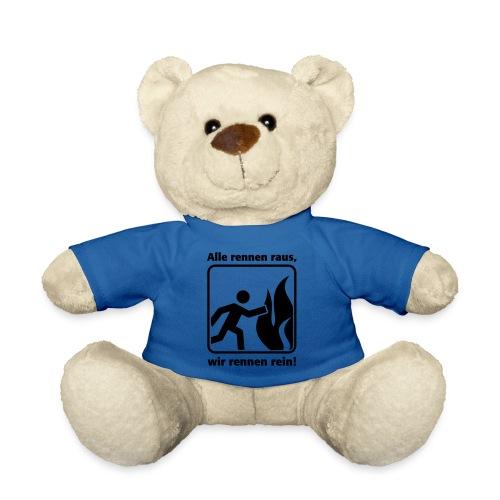 ALLE RENNEN RAUS, WIR RENNEN REIN! - Teddy