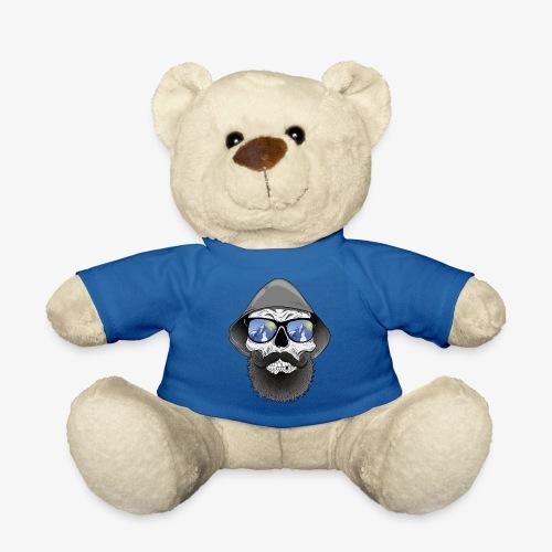 Totenkopf mit sonnenbrille und hut - Teddy