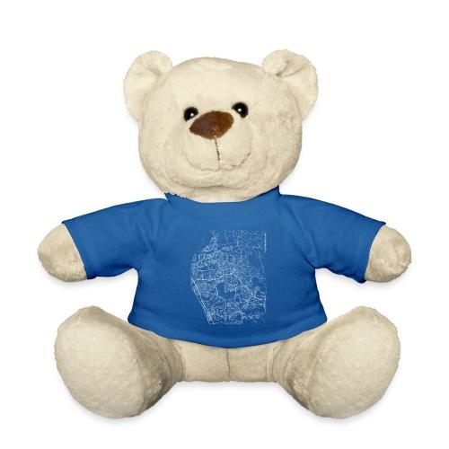 Minimal Vista city map and streets - Teddy Bear