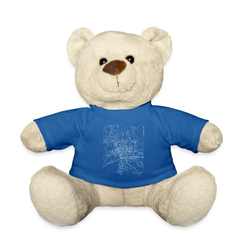 Minimal Tuscaloosa city map and streets - Teddy Bear