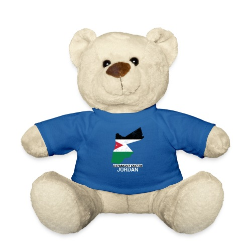 Straight Outta Jordan country map - Teddy Bear