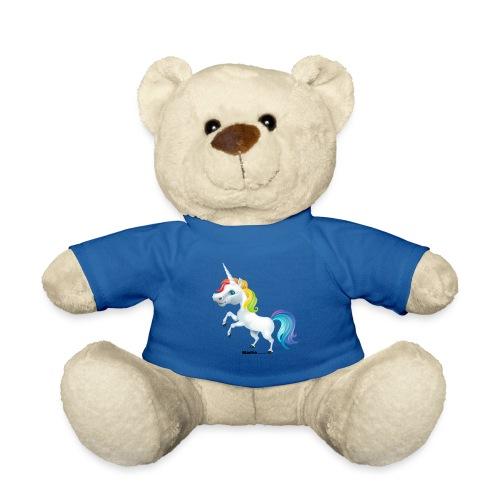 Rainbow enhjørning - Teddybjørn