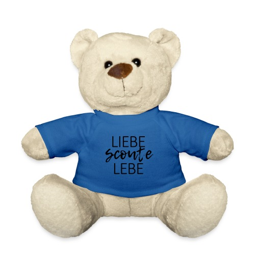 Liebe Scoute Lebe Lettering - Farbe frei wählbar - Teddy