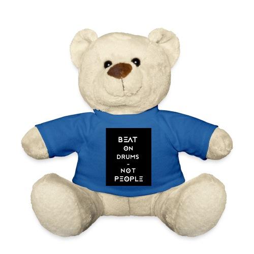 beatondrums black - Teddybjørn