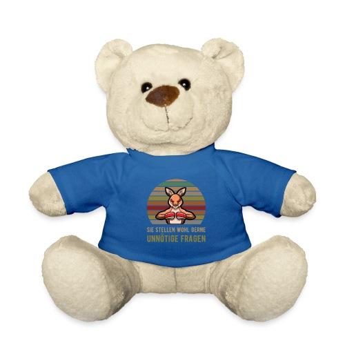 Sie Stellen wohl gerne unnoetige Fragen   Känguru - Teddy