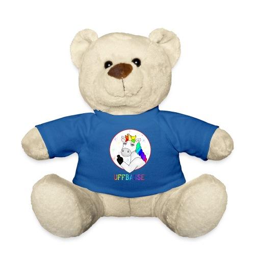 Einhorn Uffbasse   aufpassen Achtung - Teddy