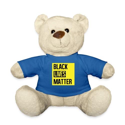 Black Lives Matter (yellow) - Teddy