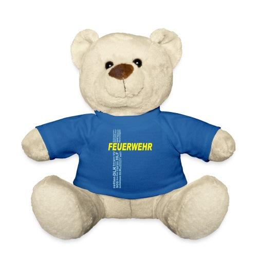 Feuerwehr Shirt mit deinem eigenen Stadtnamen - Teddy