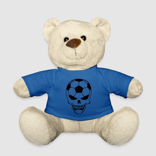 Fußball-Totenkopf - Teddy