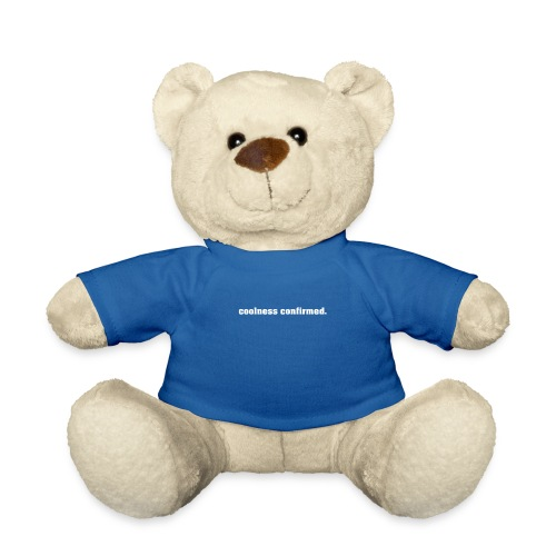 coolnessconfirmed   White - Teddy Bear