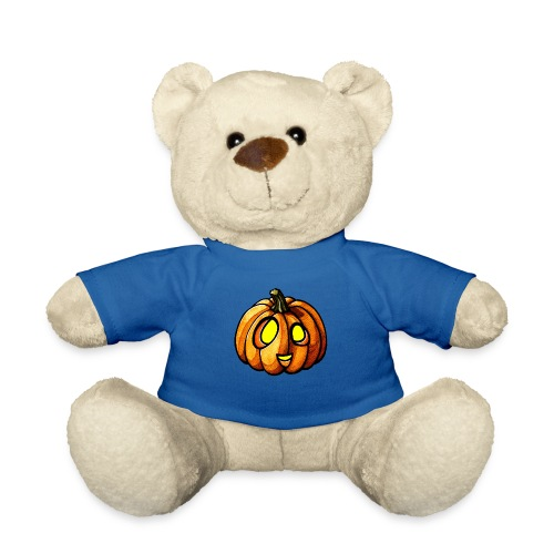 Pumpkin Halloween watercolor scribblesirii - Teddy Bear