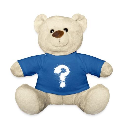 Fragezeichen - Teddy