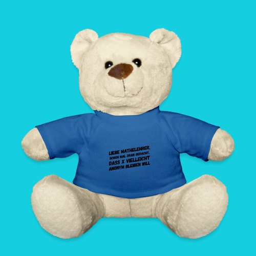Das Mathegenie - Teddy