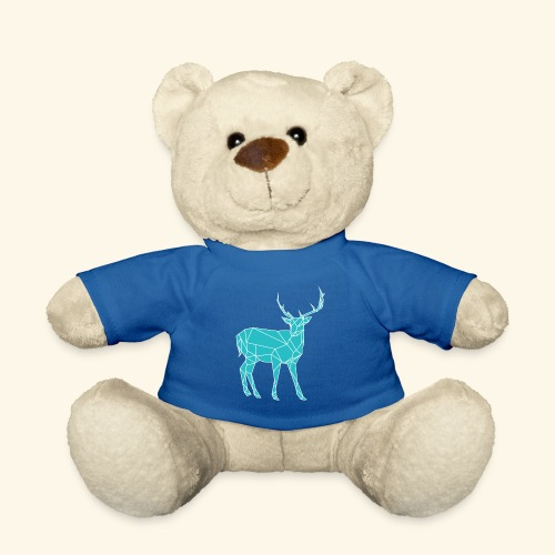 Blue Reindeer - Teddy Bear