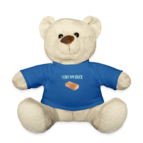 I love my brick - Teddy Bear