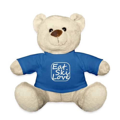 eat ski love - Teddy Bear