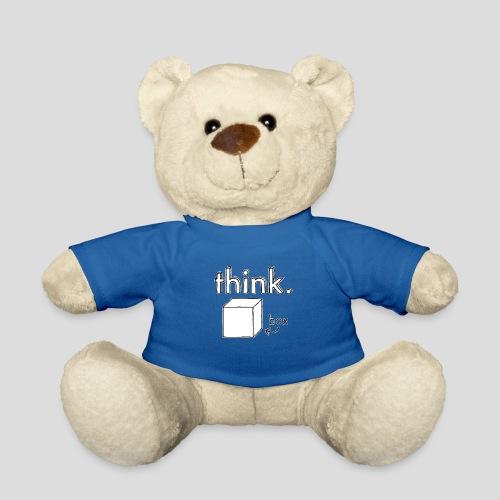 Think Outside The Box Illustration - Teddy Bear