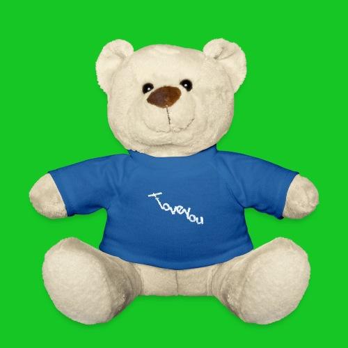 I love you vliegtuig - Teddy