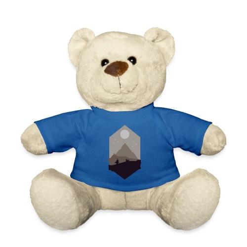 Mountain silhouette - Teddybjørn