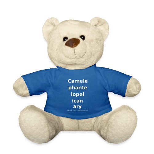 camelepha 5lines white - Teddy Bear