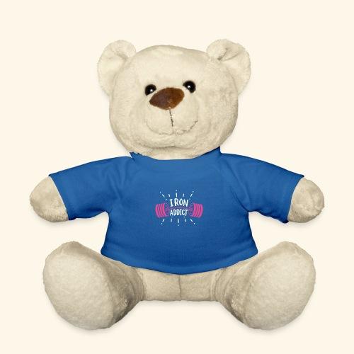 VSK Lustiges GYM Shirt Iron Addict - Teddy